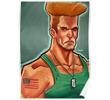 Guile - SF Poster