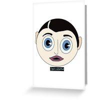 Frank Sidebottom Greeting Card