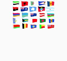 flags of the countries and states Unisex T-Shirt