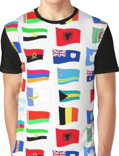 flags of the countries and states Graphic T-Shirt