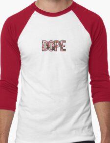 DOPE FLOWERS (PINK VARIANT) Men's Baseball ¾ T-Shirt
