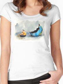 Husk. Women's Fitted Scoop T-Shirt