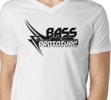 Bass Prototype Music Mens V-Neck T-Shirt