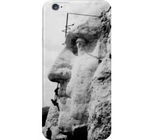 Mount Rushmore Construction Photo iPhone Case/Skin