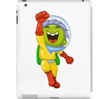 Cartoon astronaut iPad Case/Skin