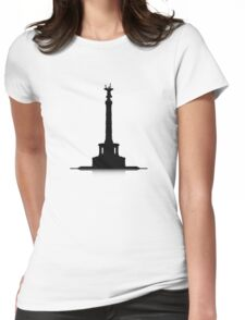 Victory Column Womens Fitted T-Shirt