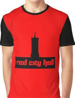 Red City Hall Graphic T-Shirt