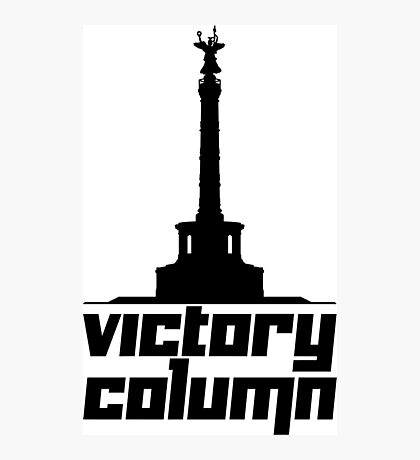 Victory Column Photographic Print