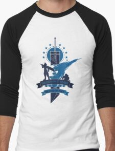 Final Fantasy 7 Cloud Strife Men's Baseball ¾ T-Shirt