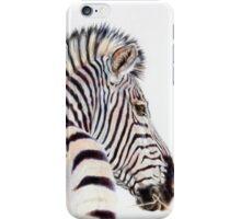 Zebra at sunset iPhone Case/Skin
