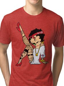 Betty Boop chola Tri-blend T-Shirt