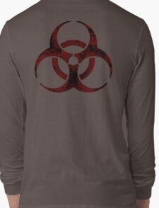 Biohazard symbol 2 Long Sleeve T-Shirt
