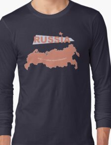 infographics Russia Long Sleeve T-Shirt