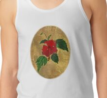 hibiscus - card Tank Top