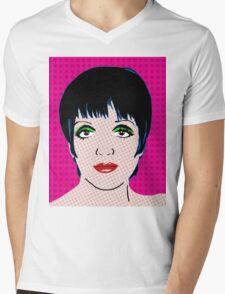 Liza By BlissNights Mens V-Neck T-Shirt
