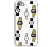 Watches Pattern Design iPhone Case/Skin