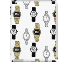 Watches Pattern Design iPad Case/Skin