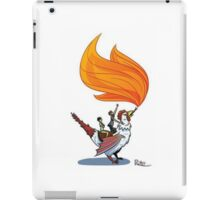 Good Mythical Morning Cockatrice Art by Mr. Ritter iPad Case/Skin