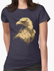 Eagle, bird Womens Fitted T-Shirt