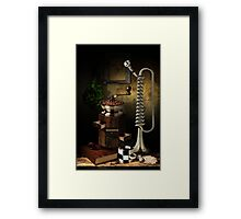 Still-life With The Trumpet Framed Print
