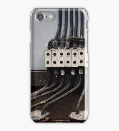 25.3.2016: End of Electricity III iPhone Case/Skin