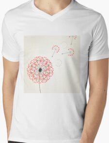 Love dandelion2 Mens V-Neck T-Shirt