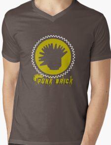 N°3 Punk Brick Collection Mens V-Neck T-Shirt