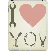 Love tool iPad Case/Skin