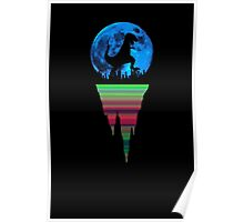 A Dinosaur in the City Poster