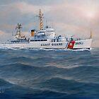 U. S. Coast Guard Cutter Castle Rock by William H. RaVell III