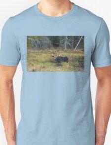 Bull Moose, Algonquin Park Unisex T-Shirt
