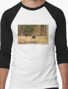 Bull Moose, Algonquin Park Men's Baseball ¾ T-Shirt