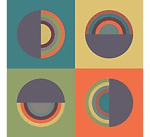 Circles - 2 Photographic Print