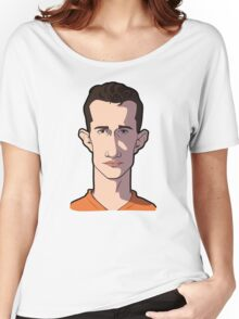Van Persie caricature Women's Relaxed Fit T-Shirt