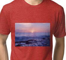 Sunset Oahu Tri-blend T-Shirt