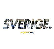 Sverige - Stockholm Photographic Print
