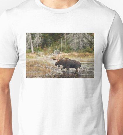 Bull moose - Algonquin Park Unisex T-Shirt