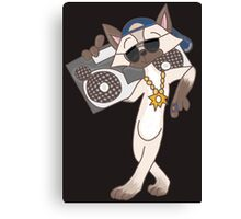 Cool Cat in town Canvas Print