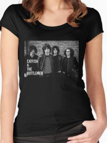 CATFISH AND THE BOTTLEMEN BAND Women's Fitted Scoop T-Shirt