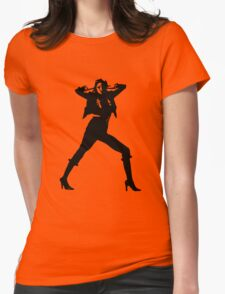 Modern stylish best selling fashion girl photo cover Womens Fitted T-Shirt