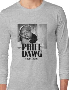Phife Dawg - RIP Long Sleeve T-Shirt