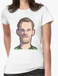Neuer Caricature Womens Fitted T-Shirt