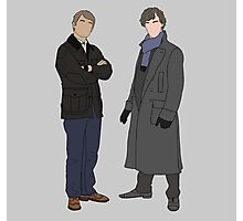 Sherlock & John Portraits Photographic Print