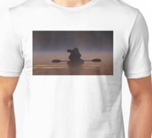 Photographing loons in the fog Unisex T-Shirt