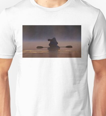 Photographing loons in the fog T-Shirt