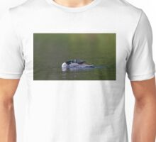 Common loon stretch Unisex T-Shirt