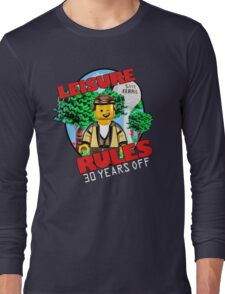 Leisure Rules - 30 Year's variant Long Sleeve T-Shirt