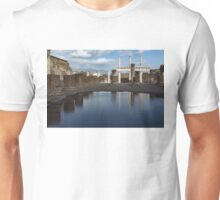 Reflecting on Ancient Pompeii - Basilica  Unisex T-Shirt