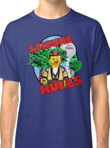 Leisure Rules - Save Ferris  Classic T-Shirt