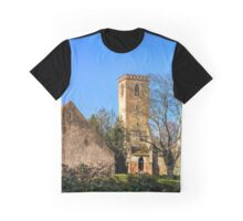 Old abandoned medieval abbey Truttenhausen, Alsace, France Graphic T-Shirt